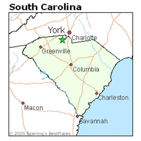 map of york county sc best places to live in york south carolina