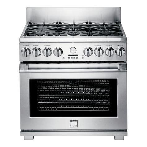 Oven Gas 1 Juta kenmore pro 79623 36 quot freestanding dual fuel range