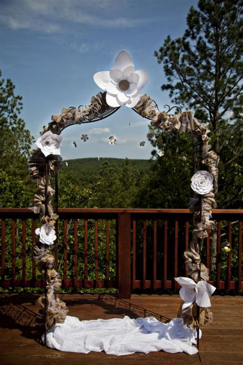 how to make a rustic wedding arch 301 moved permanently
