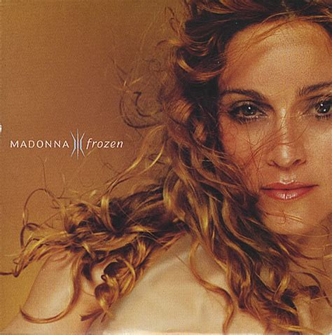 Frozen Single frozen backing track madonna
