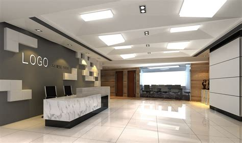 Ceiling Design Company Ceiling Design For Company Entrance 3d House