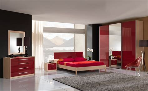 decoraci 243 n de dormitorio en rojo