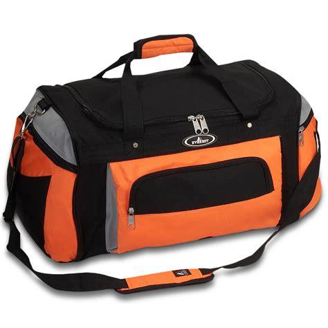 deluxe sports duffel bag everest bag