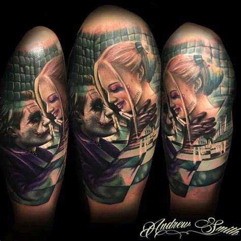 harley quinn joker tattoo the top 10 harley quinn designs