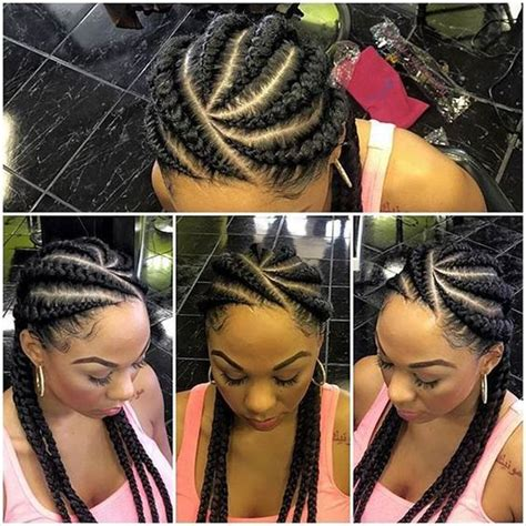 40 stunning ghana weaving styles for ladies fashionstyle ng 40 hip and beautiful ghana braids styles banana braids