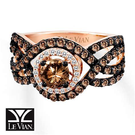 jared levian chocolate diamonds 1 1 2 cts tw ring 14k