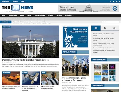 wp content themes newspaper get a dynamic news wordpress theme for online news magazines