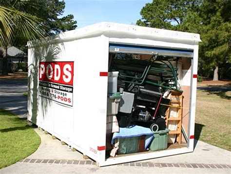 portable moving  storage review  haul  box  pods