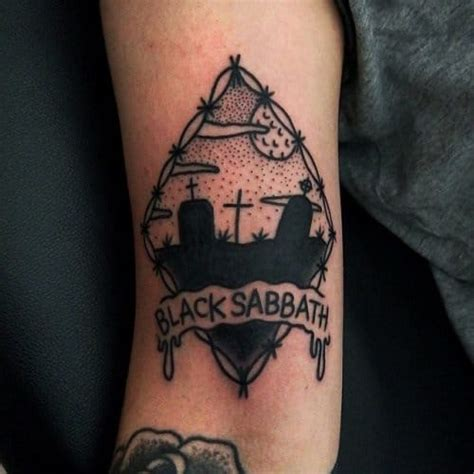 Amazing Black Sabbath Fan Tattoos Nsf Music Station