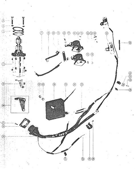 60 hp mercury wiring harness 28 wiring diagram images