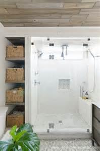 beautiful farmhouse master bathroom remodel