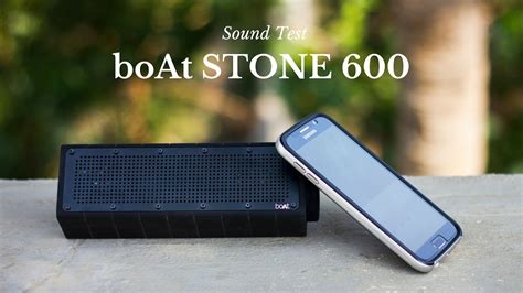 boat speakers stone 600 boat stone 600 bluetooth speaker sound test youtube