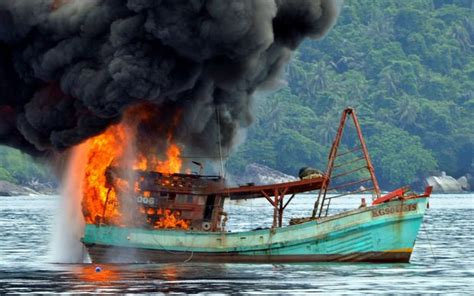 fishing boat sinking new zealand indonesia s shock therapy for illegal fishing radio