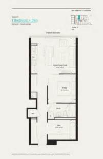 den floor plan 383 sorauren floor 2 model c3 1 bedroom den 656 sq ft balcony find your