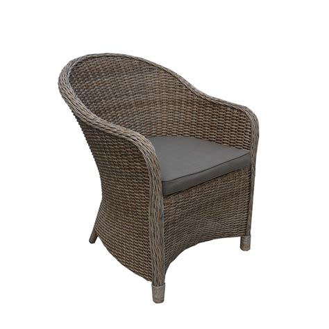 mimosa vlancia resin wicker tub chair bunnings warehouse