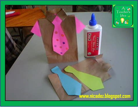 Fathers Day Paper Crafts - a s idea s day craft ideas educational