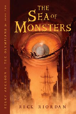 The Sea Of Monsters Cover 8 Th Anniversary Percy J Oleh Rick R the sea of monsters