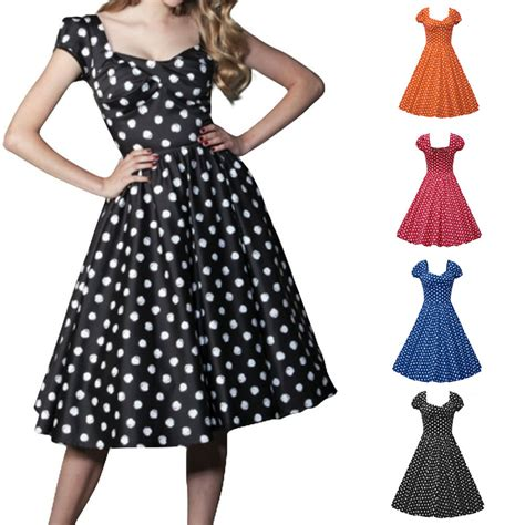 8 Retro Inspired Accessories by Vintage Style Polka Dot 50 S 60 S Swing Pinup Retro