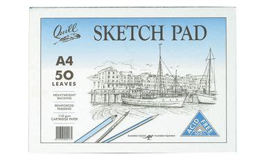 quill a3 sketchbook quill premium sketch pads drawing pads the