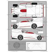 Big Block Modified Template  School Of Racing Graphics