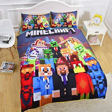 minecraft sheets and comforter new arrival minecraft bedding set vivid kids comforter