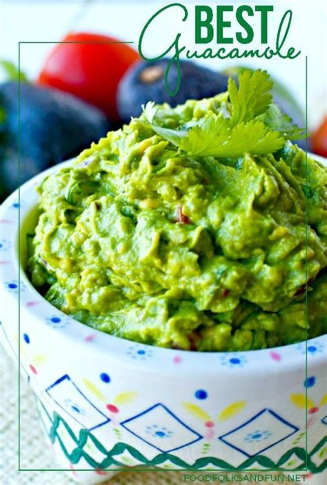 Lifestylefood A Delicous Guacamole Recipe by The Best Basic Guacamole Recipe Dishmaps