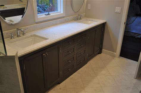 made bathroom vanity by k smith custom woodworking