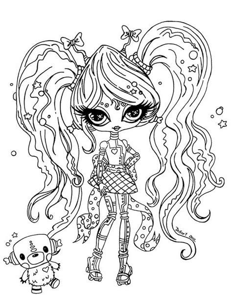 dibujos para colorear de monster high de beb s dibujos monster high dibujos para imprimir y colorear dibujos