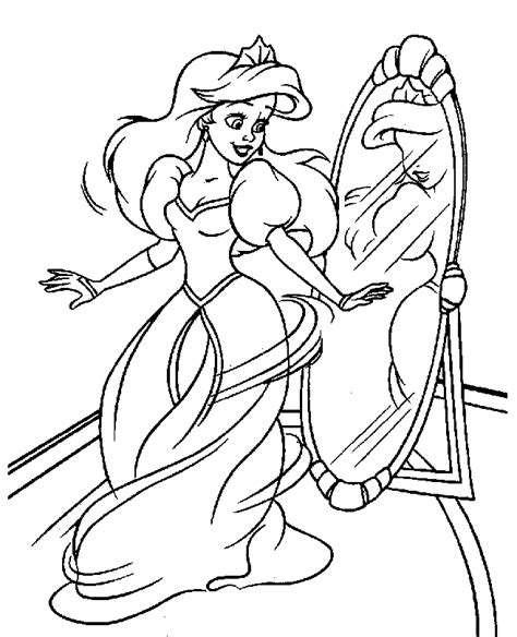 the little mermaid coloring pages princess coloring