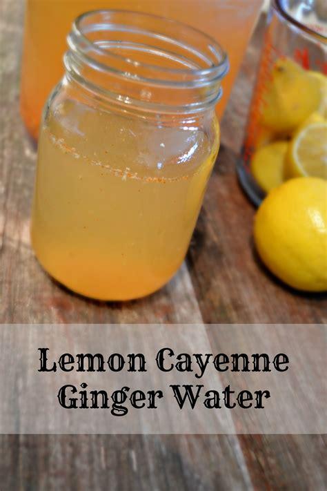 Water Lemon Juice Cayenne Pepper Detox by Lemon Cayenne Water