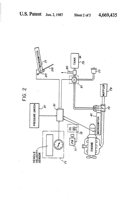 Exhaust Brake System Diagram Patent Us4669435 Exhaust Brake System