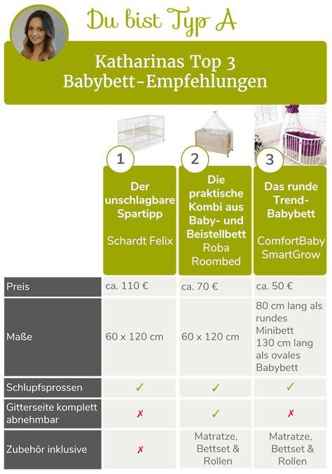 bett 60x120 wie lange babybetten die top 6 empfehlungen