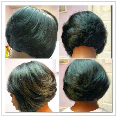 razor bob haircut african american razor cut bob quick weave keshia maye pinterest