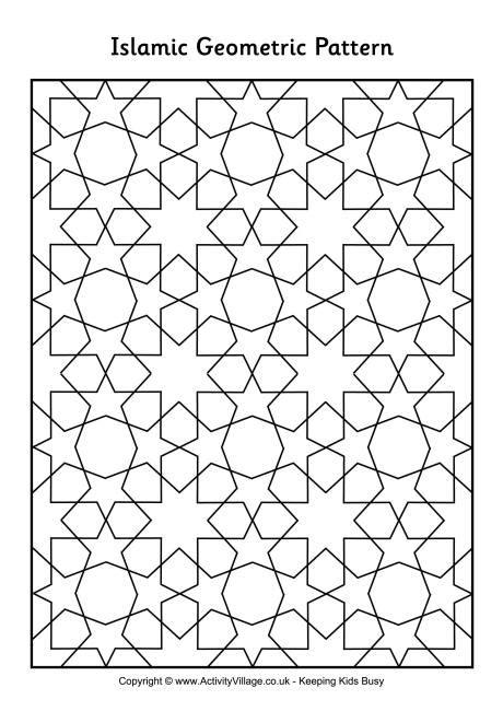 islamic pattern design pdf islamic geometric design coloring pages printable islamic