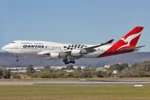 Perth airport spotter s blog qantas s b747 48e grand prix returns