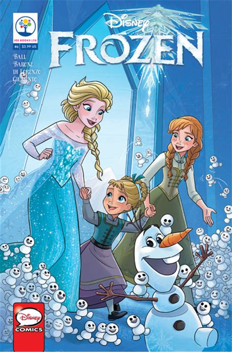 disney princess comic strips collection something to sing about books dec161760 disney frozen 6 previews world
