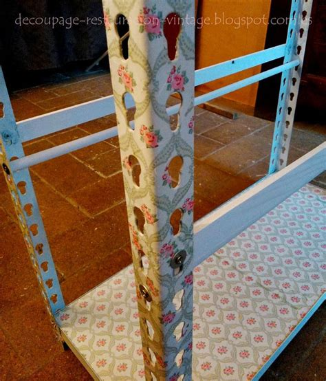 Decoupage Techniques Ideas - 19 best images about contest diy metal shelves episode 3