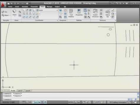 autocad tutorial zoom autocad lt 2010 tutorial zoom and pan basics youtube
