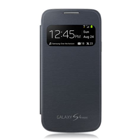 S View Cover Samsung Galaxy S4 Original 100 Orange original samsung galaxy s4 mini gt i9195 s view cover flip