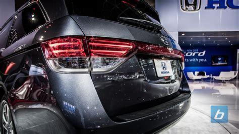 Honda 2014 Odyssey Honda Reveals 2014 Honda Odyssey Revealed And It