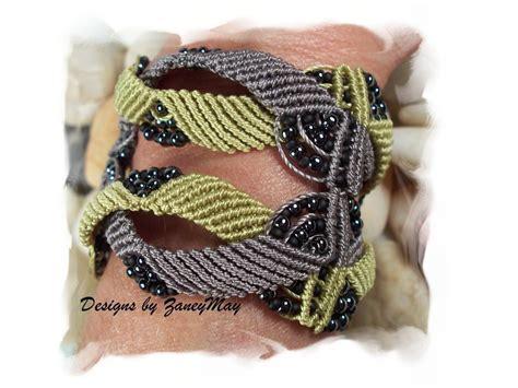 Macrame Ring Patterns - intertwine macrame by zaneymay jewelry pattern
