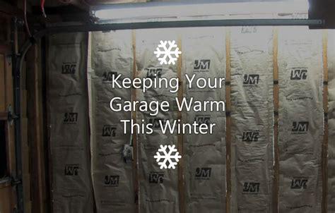 Keeping A Garage Warm In Winter keeping your garage warm this winter harbour door