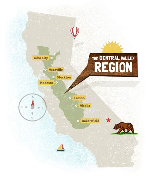 california map central valley visit california s central valley central valley