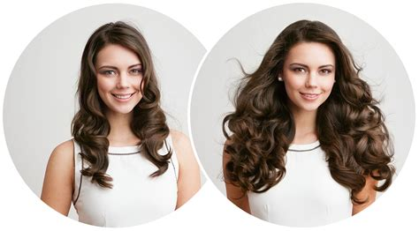 thin hair extensions before and after remy indian hair clip in hair extensions for thin hair before and after