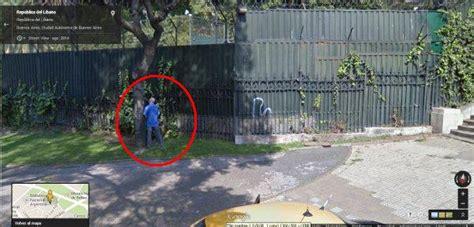 imagenes insolitas captadas por google maps street view curiosidades taringa