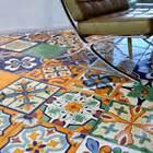 Floor In Spanish Mexican Tile Mexican Tile Flooring Saltillo Terra Cotta