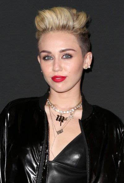 top 9 miley cyrus hairstyles styles at life 30 best ideas about undercut pixie on pinterest angled