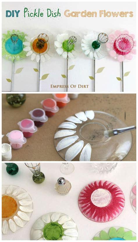 how to make flower garden 25 best ideas about glass garden flowers on