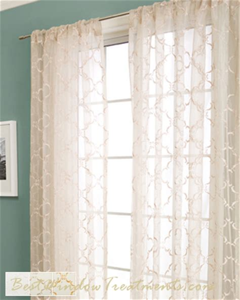 sheer curtains panels grand luxe sheer curtain drapery panels
