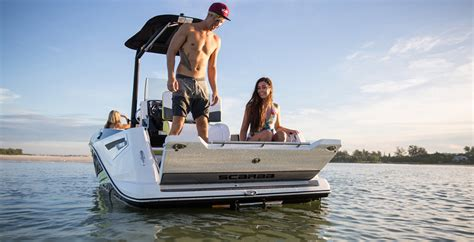 scarab boats 195 open scarab open 195 review boat